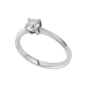 0.50ct Diamond Solitaire Engagement Ring