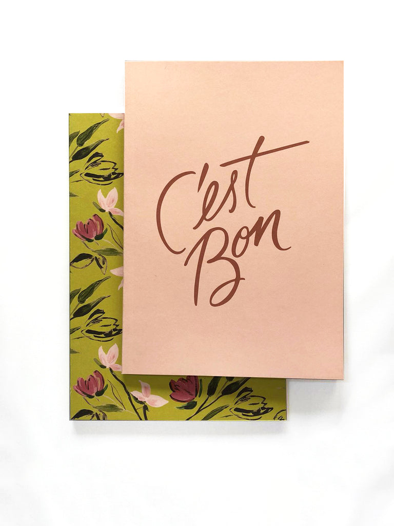 C'est Bon Notebooks Set