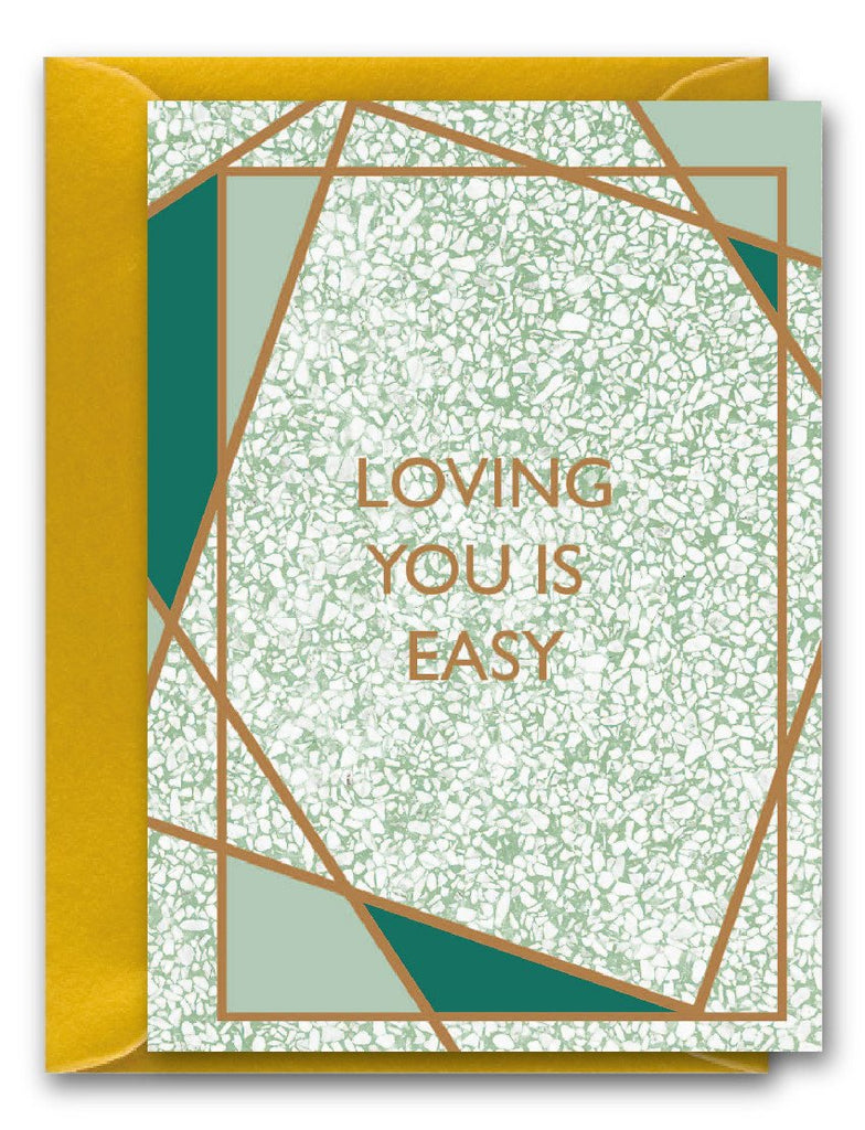 Loving you is easy Gem Card