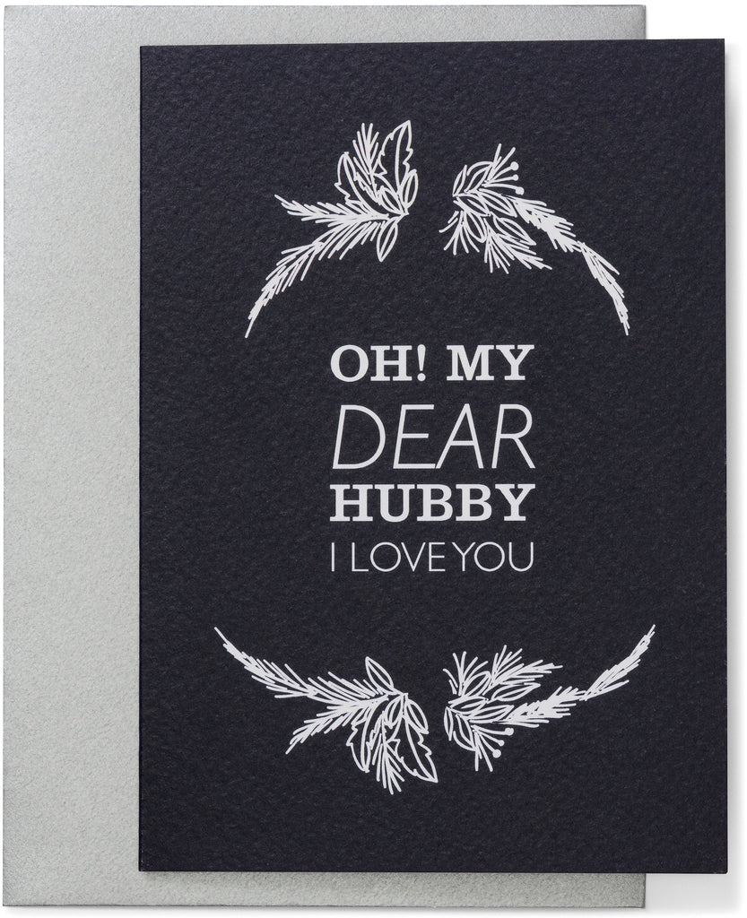 Oh My Dear Hubby Card