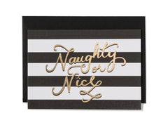 Naughty & Nice Christmas Card