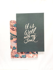 It is Well Notebooks Set