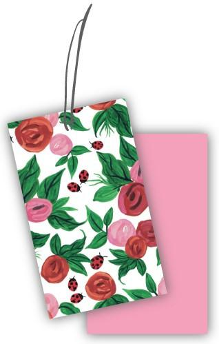 Roses & Ladybirds Gift Tags