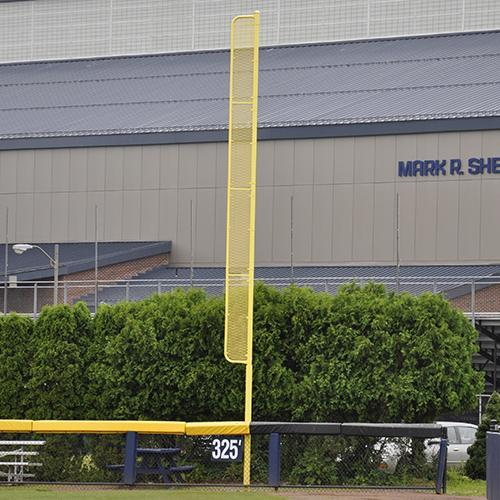 JayPro 30' H' Professional Foul Pole For Baseball (Pair) - Surface Mount