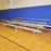 JayPro 4 Row Portable 27'' Tip & Roll Preferred Aluminum Bleacher