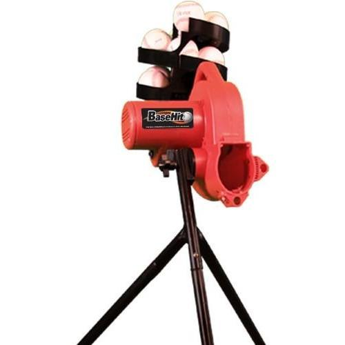 Heater Sports BaseHit Real Baseball Portable Pitching Machine