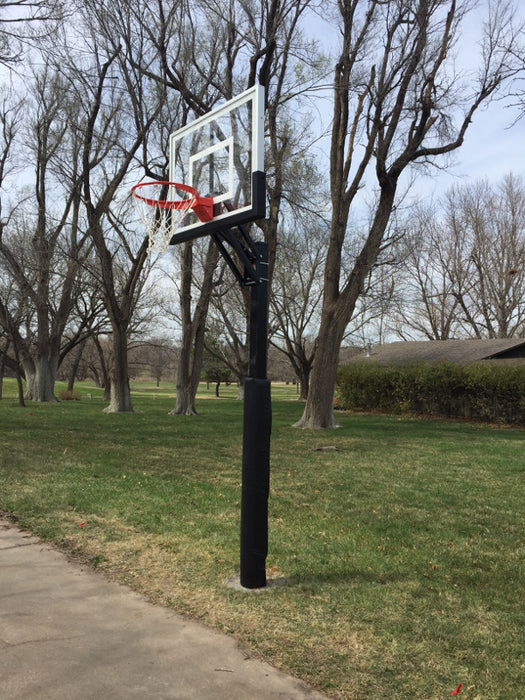 First Team Champ BP In Ground Adjustable Basketball Goal