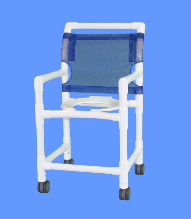 "Aqua Creek 24"" Deluxe Shower/Commode Chair F-520XW"