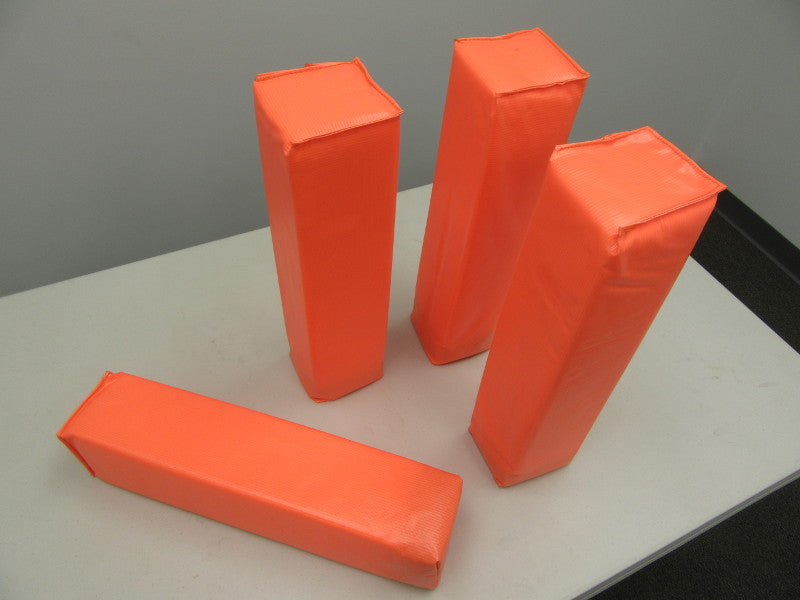 First Team FT6000GLM Bright Orange End Zone Markers