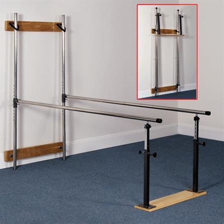 FlagHouse 32150 Wall-Mount Parallel Bars