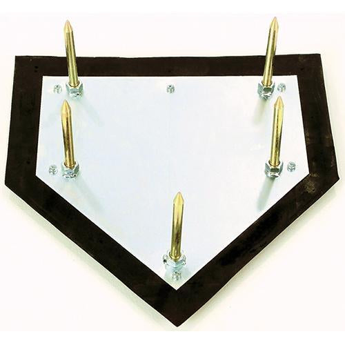 JayPro Major League Home Plate – w/ 5 Spikes