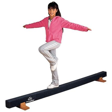 FlagHouse 3696 Kidnastics® Carpeted Balance Beam