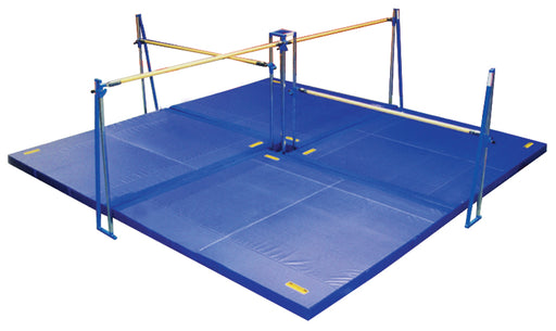 Norberts QD-516 12cm Quad Bar Mat System 6' Rails Gymnastics Bar & Mat