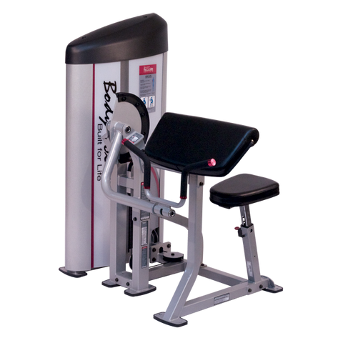 Body Solid Bicep Curl Preacher Machine S2AC