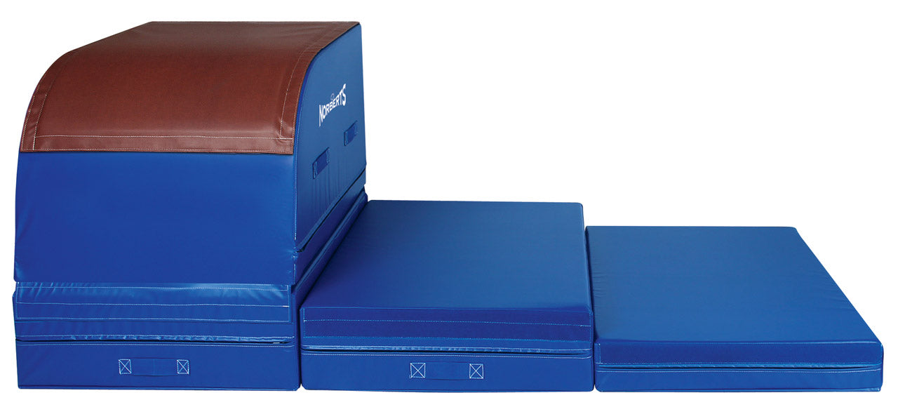 Norberts VT-150P Performance Top, Deluxe Table Trainer Set (Base unit & all blocks) Gymnastics Vault