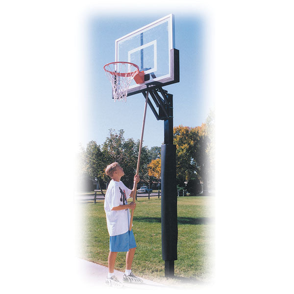 First Team Champ In Ground Adjustable Basketball Goal