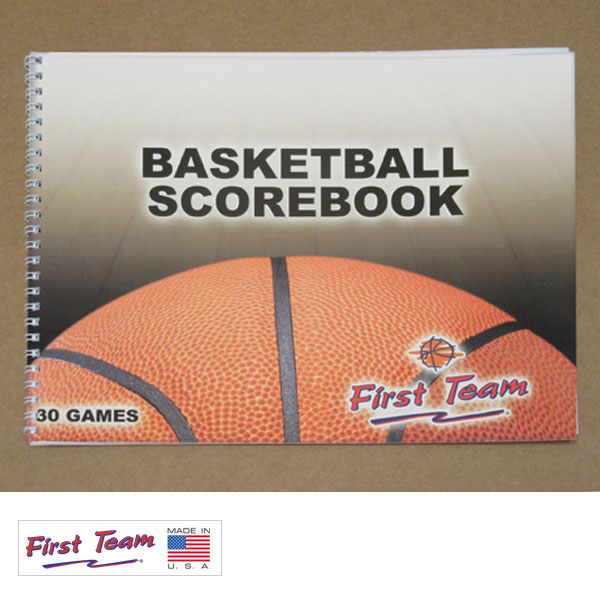 First Team FT14 Basketball Scorebook FT14
