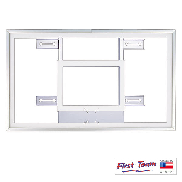 First Team FT220H Gymnasium Acrylic Basketball Backboard FT220H