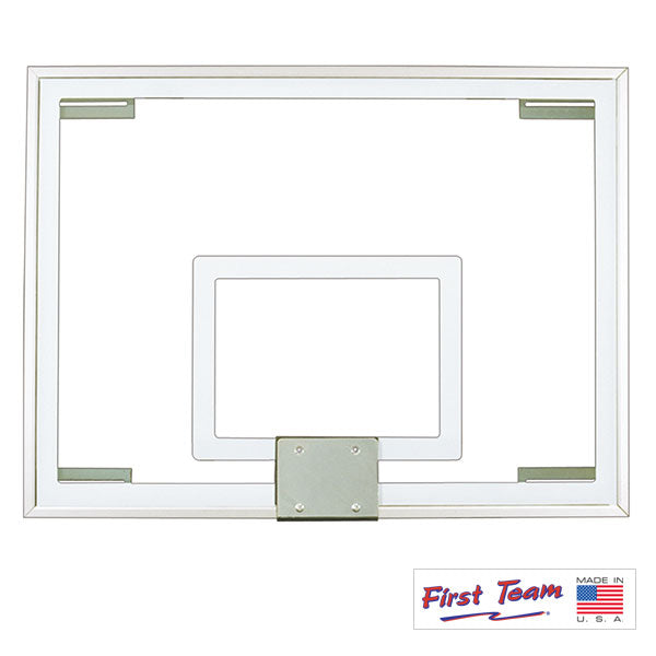 First Team FT231 Gymnasium Glass Basketball Backboard FT231
