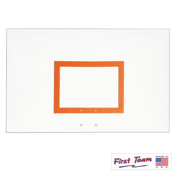 "First Team FT256 36"" x 60""Steel Basketball Backboard"