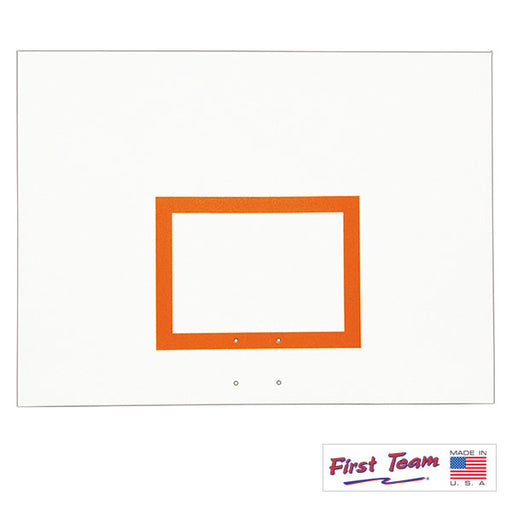 "First Team FT260B 42"" x 60"" Steel Basketball Backboard with Brackets"