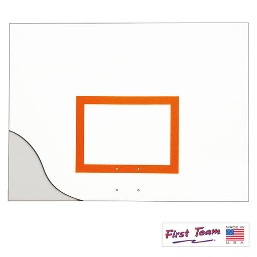 "First Team FT261 42"" x 60"" Aluminum Basketball Backboard"