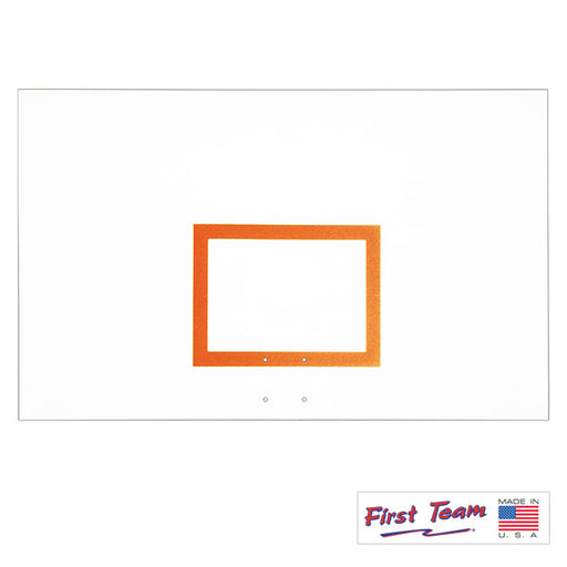 "First Team FT265 42"" x 72"" Steel Basketball Backboard"