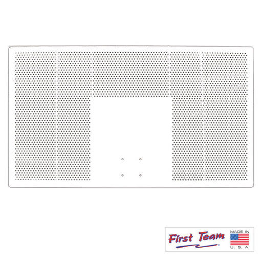 "First Team FT267 42"" x 72"" Aluminum Backboard"