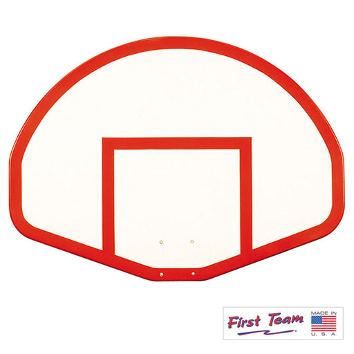 "First Team FT275 39"" x 54"" Gymnasium Fiberglass Basketball Backboard"