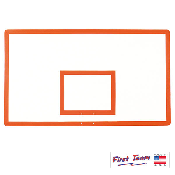 "First Team FT280 42"" x 72"" Gymnasium Fiberglass Basketball Backboard"
