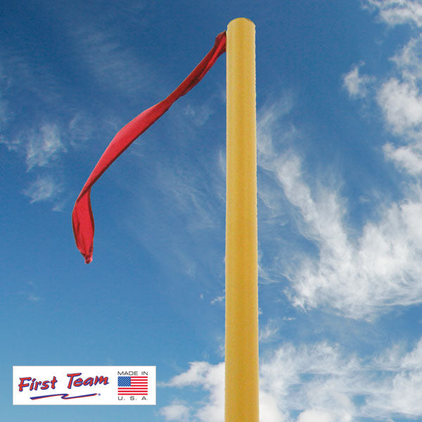 First Team FT6000WDS Official Red Weather Resistant Streamers