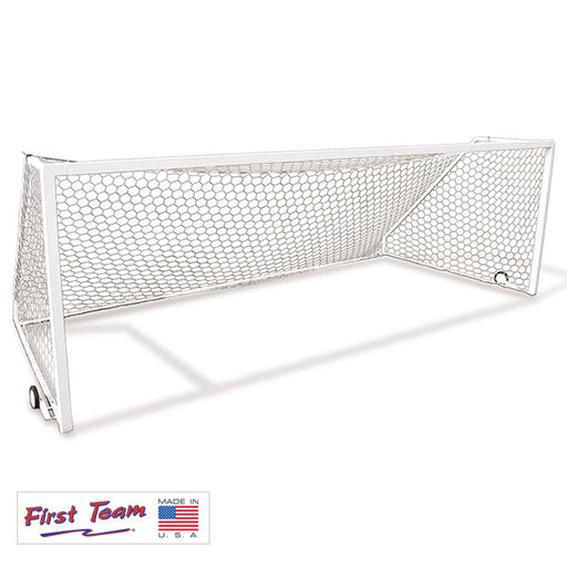 First Team Golden Goal 44 Square Aluminum Portable Soccer Goal