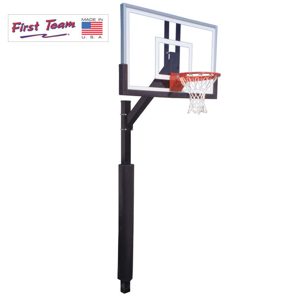 First Team Legacy BP Fixed Height Basketball Goal