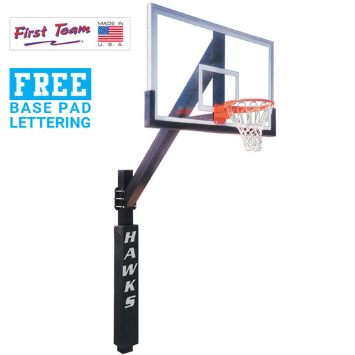 First Team Legend Excel Fixed Height Basketball Goal