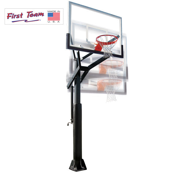 First Team PowerHouse 5 In Ground Adjustable Basketball Goal PowerHouse 560
