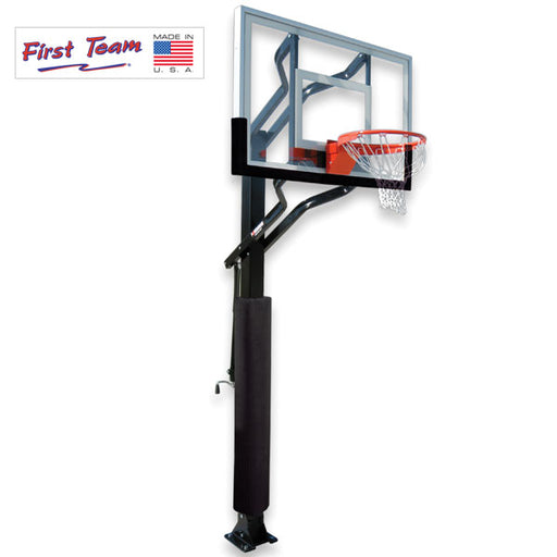 First Team PowerHouse Challenger In Ground Adjustable Basketball Goal