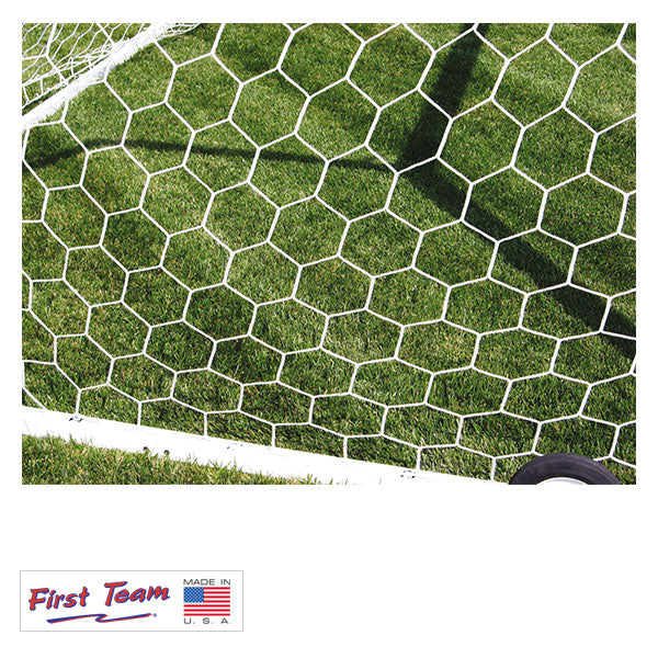 First Team Heavy Duty HTPP Hexagonal Soccer Nets