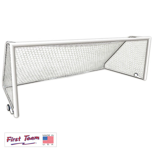 First Team World Class 40 Round Aluminum Portable Soccer Goal