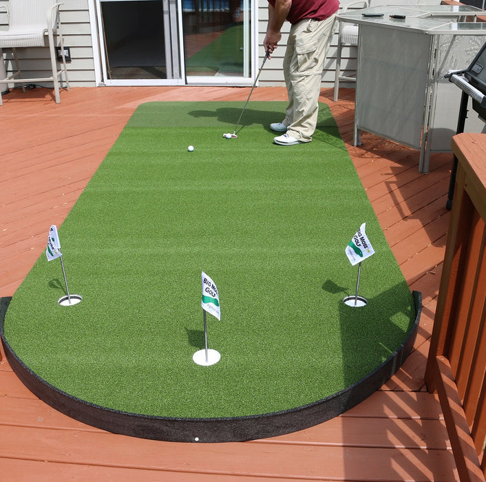 Big Moss Golf Commander Patio Series Putting & Chipping Green 6' x 15' 615PS