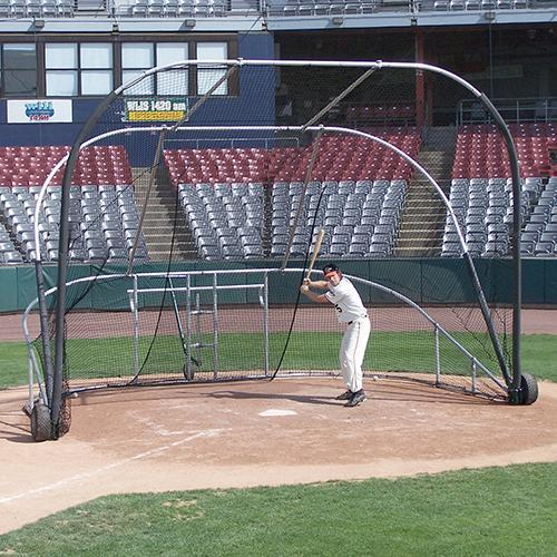 JayPro Little Slam Portable Batting Cage
