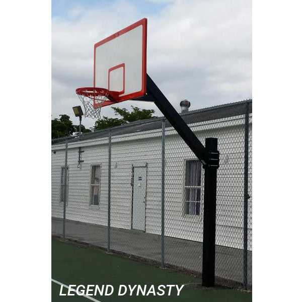 First Team Legend BP Fixed Height Basketball Goal