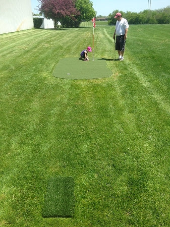 Big Moss Golf Outdoor Putting & Target Green