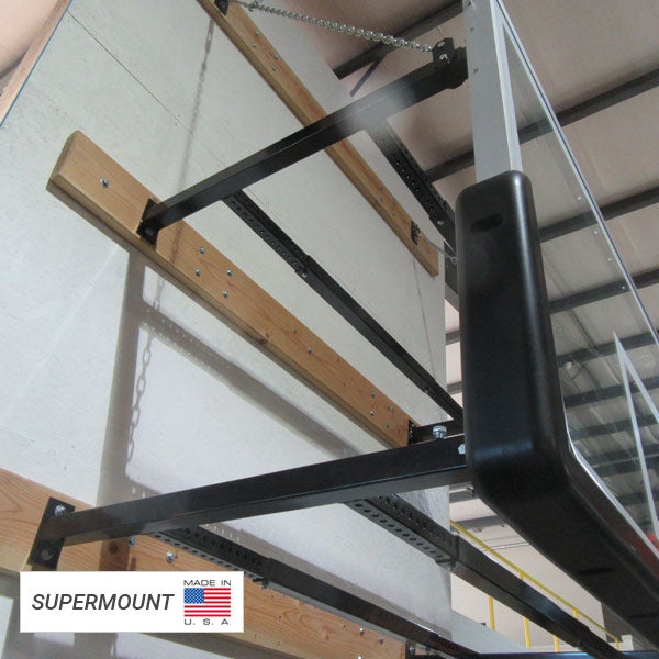 First Team SuperMount46 Wall Mount Basketball Goal