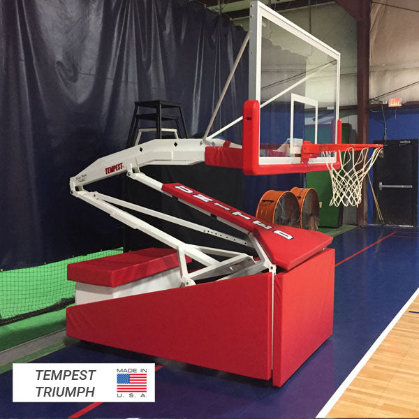 First Team Tempest Portable Basketball Goal Tempest Triumph