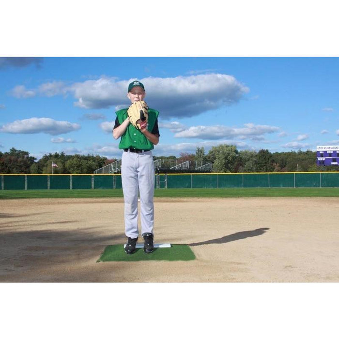 ProMounds Clay or Green Lightweight Portable Pitcher's Training Mound