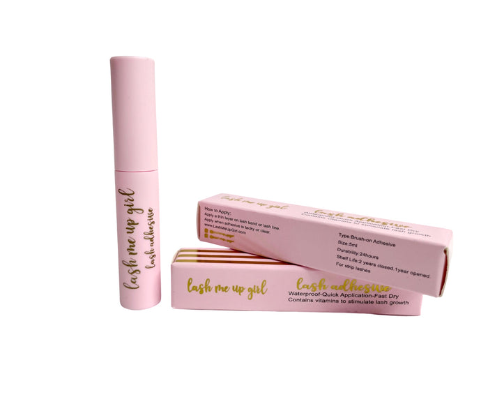 Latex-free, Vitamins for Growth- Lash Adhesive.