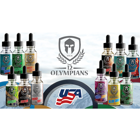 12 Olympians By Killer Juice