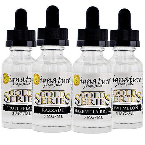 Gold Series By Signature Vape Juice