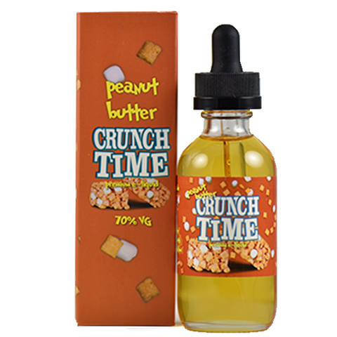 Crunch Time E-Juice - Peanut Butter