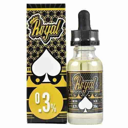 Drip Royal E-Liquid - Pears and Cream